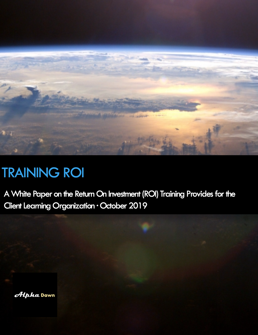 Alpha Dawn Training ROI White Paper