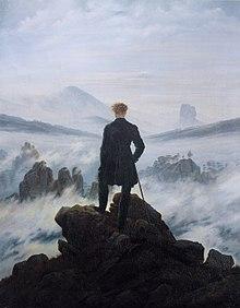"Caspar David Friedrich's ""Wanderer above the sea of fog"""