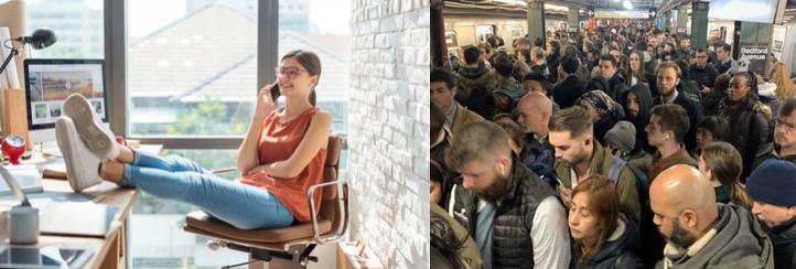 WFH vs Commute